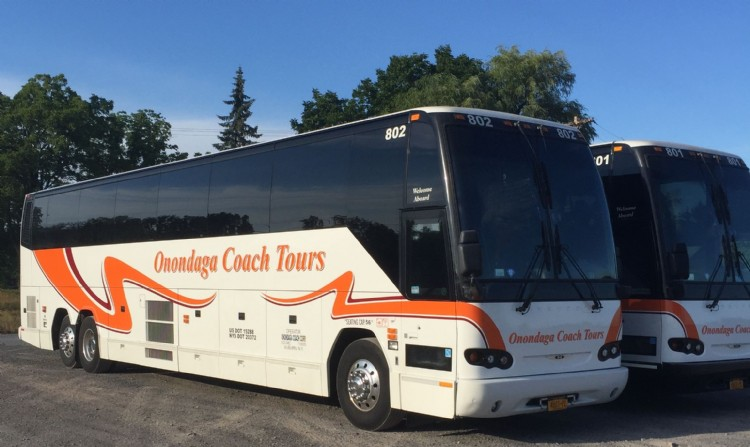 Prevost H3-45: Currently two in our fleet